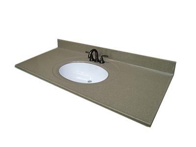 recessed oval lavatory